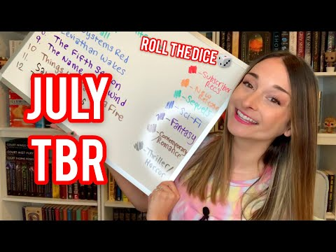JULY TBR // Roll The Dice Game