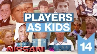 CITY PLAYERS AS KIDS | Man City Advent 2015 | Day 14