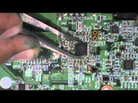 How To Replace The Charger Ic Of Laptop Motherboard Youtube