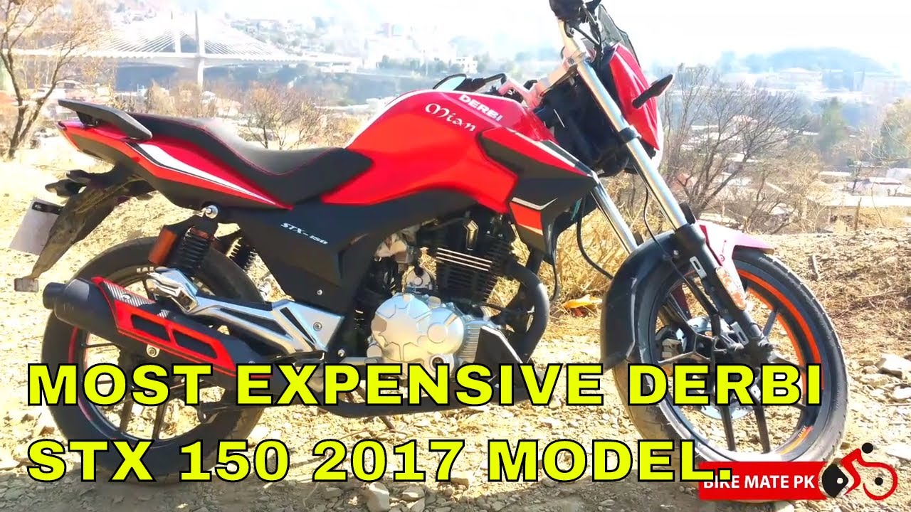 DERBI STX 150 2017 | MOST EXPENSIVE DERBI 150 OF PAKISTAN | IMPORTED AND  EXPENSIVE |