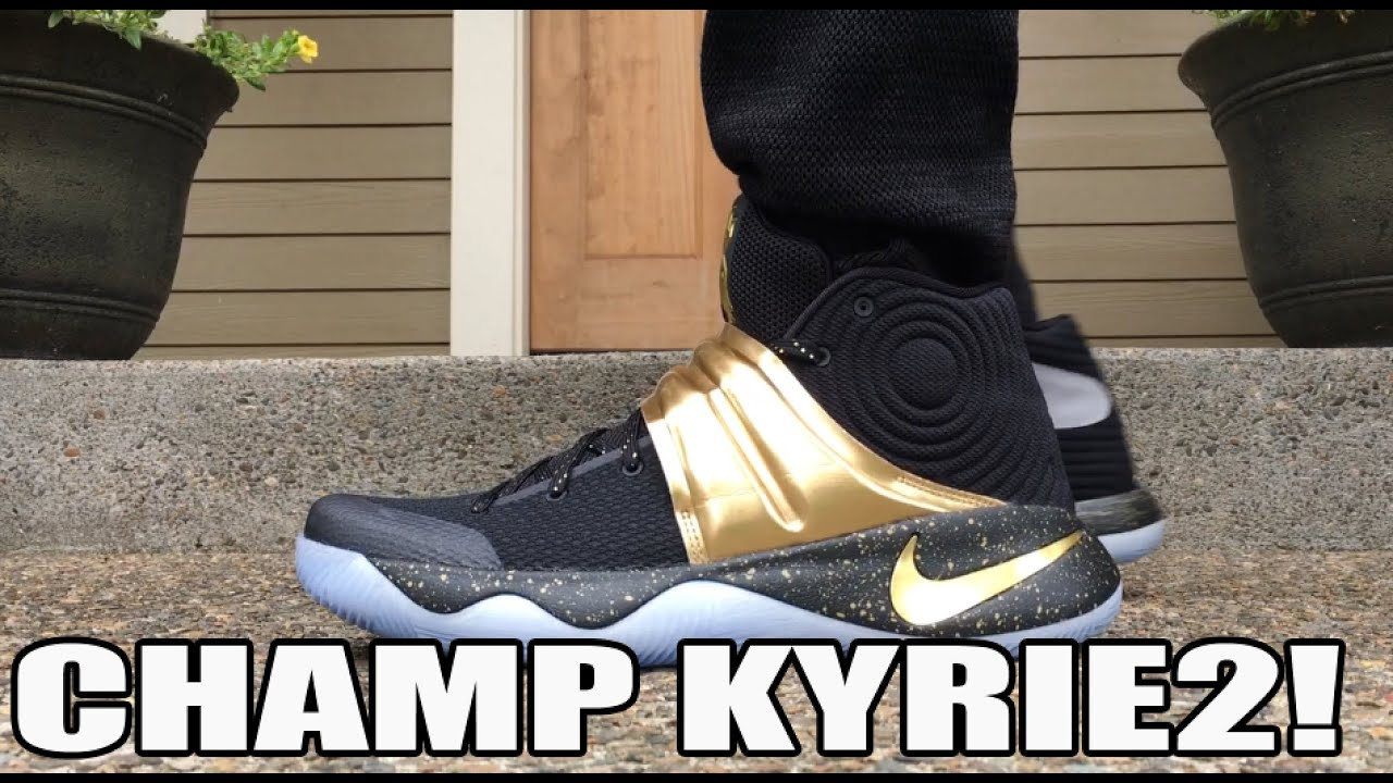 08ef512711f NikeID Kyrie 2 Championship Game 7 Review On Feet - YouTube
