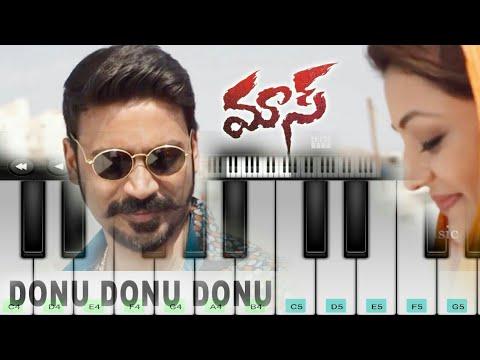 Donu Donu Piano | Maari | Anirudh | Danush | Mobile Piano