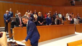 Los nuevos diputados utilizan distintas fórmulas para prometer o jurar sus cargos