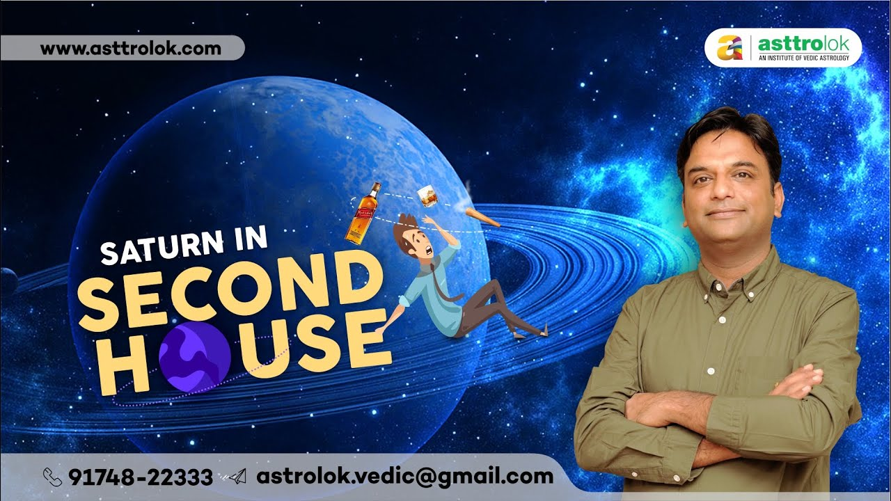 Saturn In The Second House of Astrology | Saturn in 2nd House | Effect of  Saturn in 2nd house
