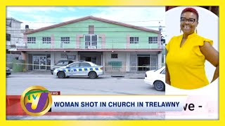 WARNING - DISTURBING CONTENT: Woman Shot in Church in Trelawny, Jamaica