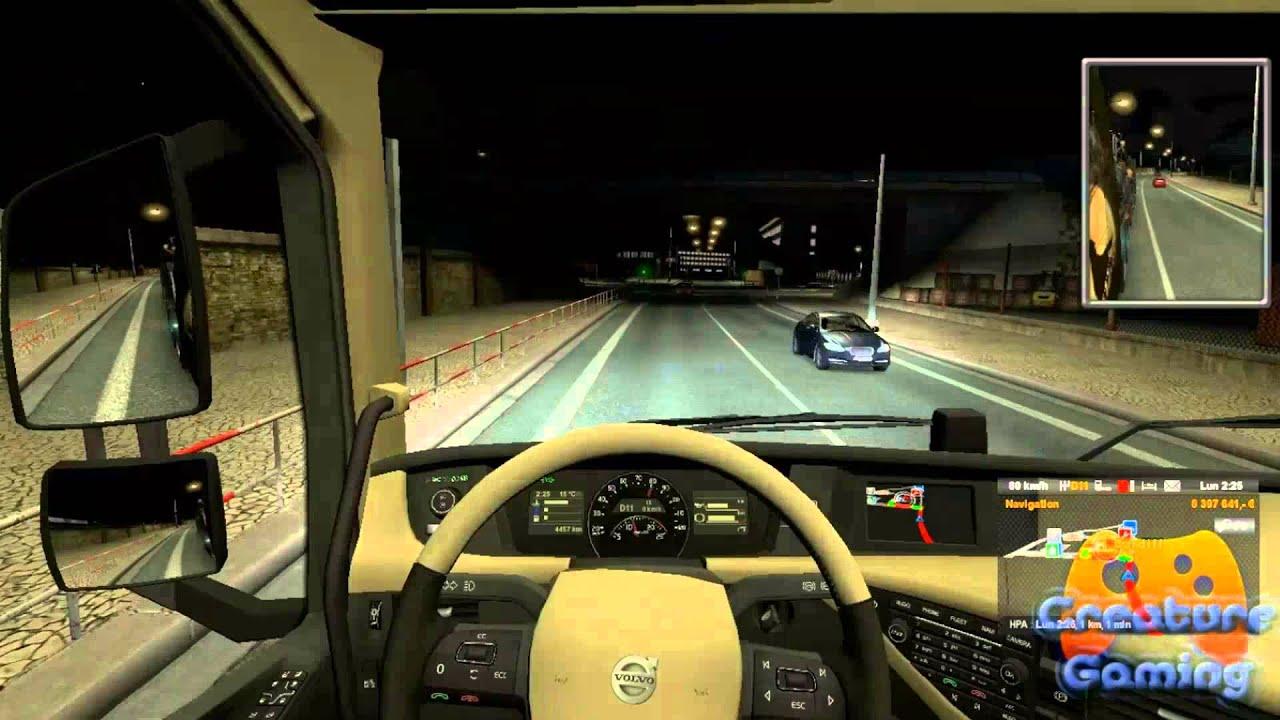 euro truck simulator 2 driving the new volvo fh 2014. Black Bedroom Furniture Sets. Home Design Ideas
