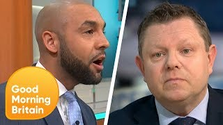 Alex Interrupts Stop and Search Debate to Talk About His Experience | Good Morning Britain