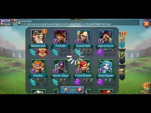 Lords Mobile Mastercook Stage 6 Challenge