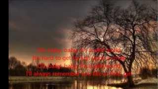 Cat Stevens -  Wild World (with Lyrics)