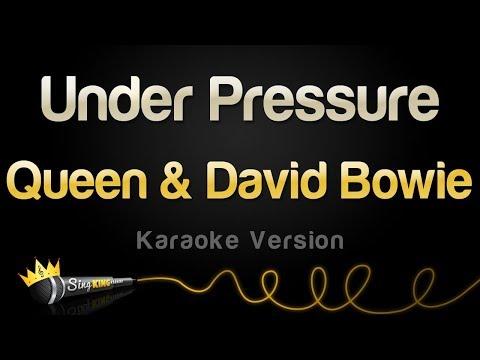 Queen & David Bowie - Under Pressure (Karaoke Version)