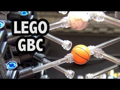 LEGO Great Ball Contraption Akiyuki Modules at Brickvention 2019