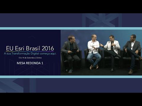 EU Esri 2016 - Mesa Redonda 1 // Prefeitura de Londrina, Cofco Agri e Grupo America Móvil