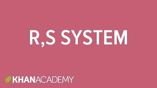 R,S system | Stereochemistry | Organic chemistry | Khan Academy