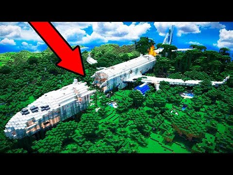 TENEMOS UN ACCIDENTE DE AVIÓN!! ✈💥 ¿SALDREMOS VIVOS? - MINECRAFT ROLEPLAY