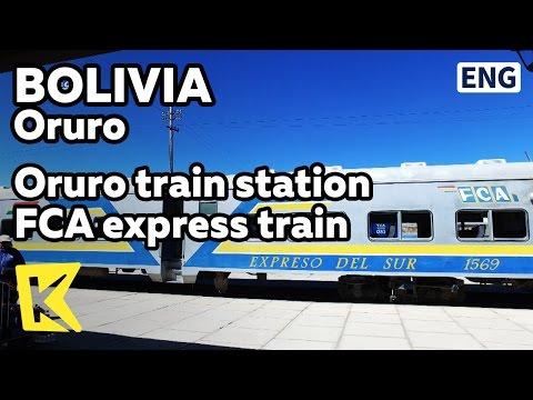 【K】Bolivia Travel-Oruro[볼리비아 여행-오루로]우유니로 가는 특급열차/Oruro train station/FCA/Express train/Uyuni