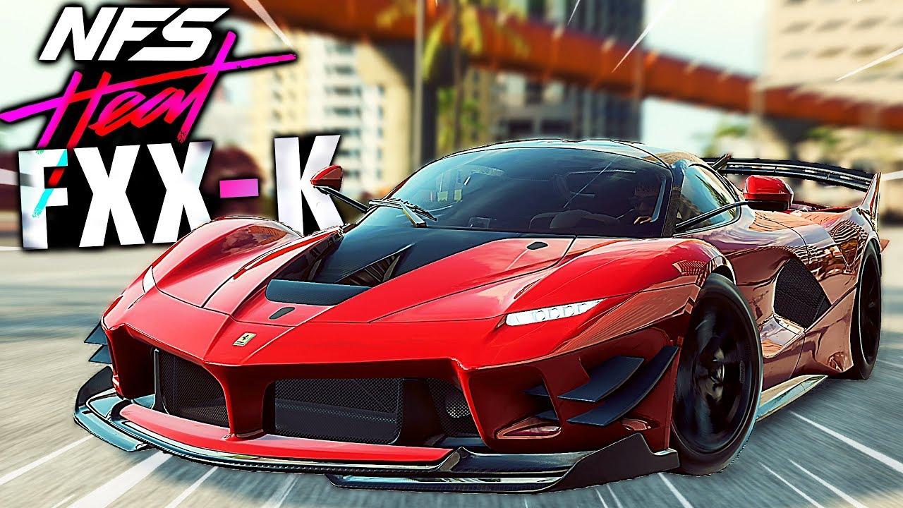 Need for Speed HEAT , Ferrari FXX,K Evo UNLOCKED! (Level 50 Crew)