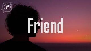 Gracie Abrams - Friend (Lyrics)