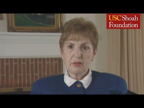 Jewish Survivor Elisabeth Mann Testimony