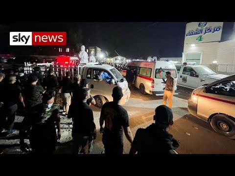 Iraq: At least 82 killed in fire at Baghdad hospital treating COVID-19 patients