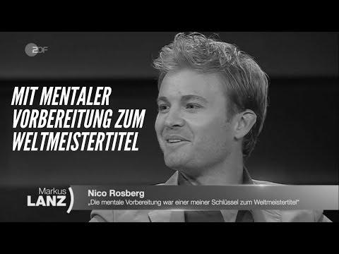Nico Rosberg über Formel 1 & Mentaltraining @ Markus Lanz: