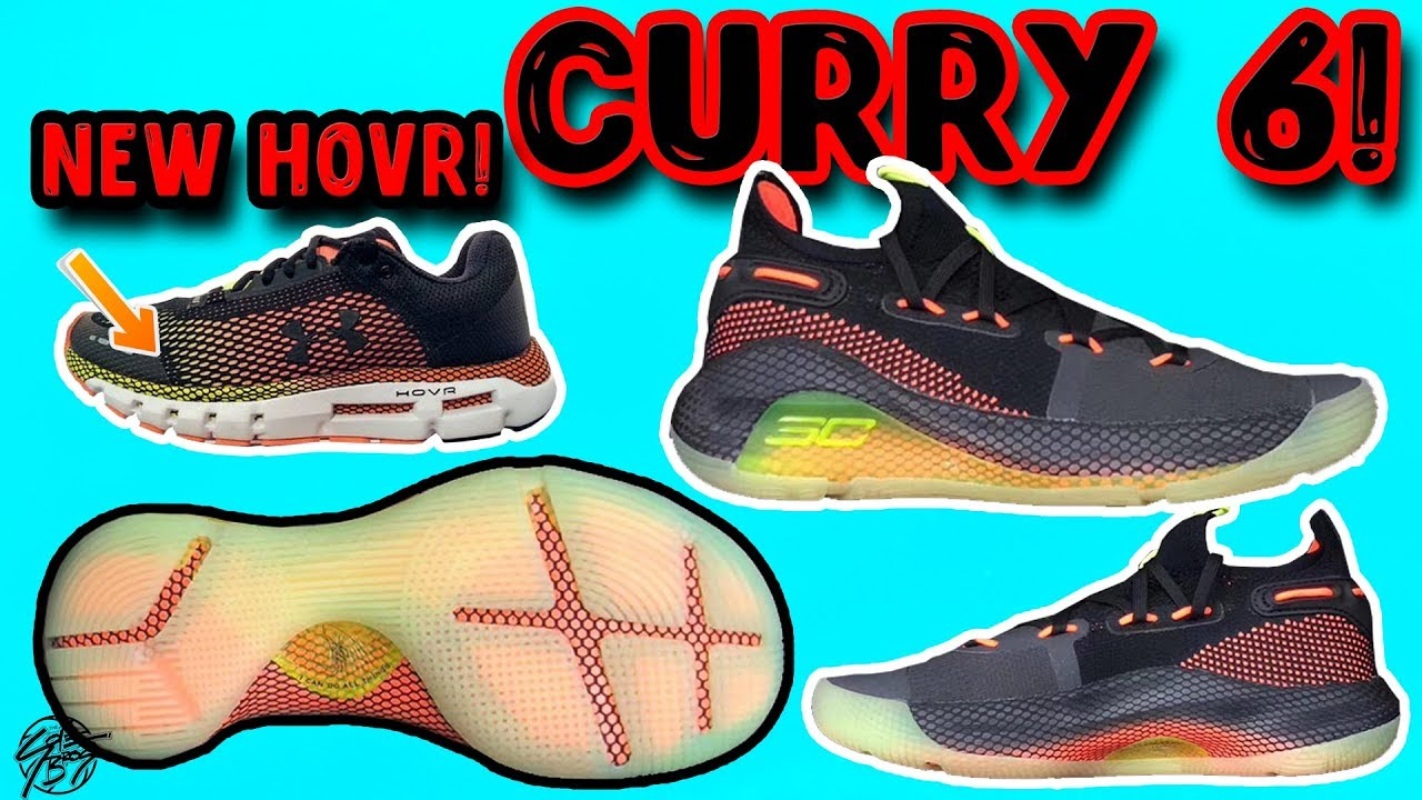 sports shoes fd5c0 0bb15 Under Armour Curry 6 New HOVR Cushion LEAK!