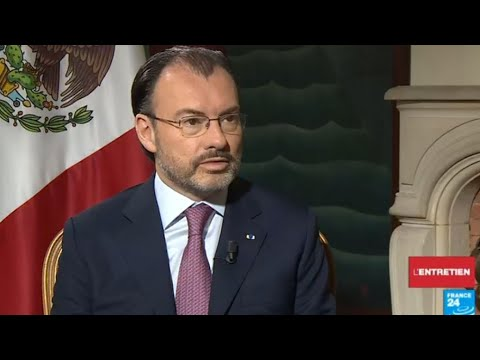 'Mexico will not finance US wall', foreign minister says