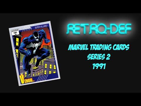RETRO-DEF: Marvel Comics Trading Cards - Series 2 (1991)