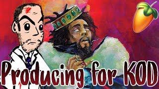 If I Produced For: J. Cole KOD Album | J. Cole Tutorial FL Studio Trap 2018 Rap Hip-Hop jcole kod