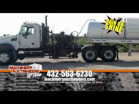 Machinery Auctioneers Odessa Texas Auction on July 14th 2015
