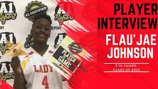 A1 Hoops Report Coach Allen interviews 2022 Flau'jae Johnson