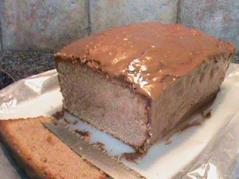 Small Milk Chocolate Pound Cake