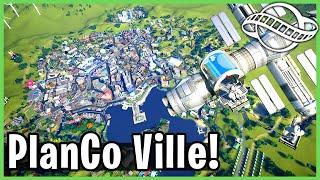 PlanCo Ville: City Skylines In Planet Coaster! Park Spotlight 212