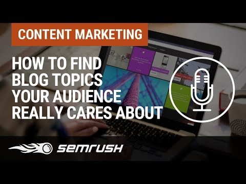 How to Find Blog Topics Your Audience REALLY Cares About thumbnail