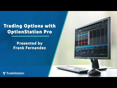 Trading Options with OptionStation Pro - YouTube