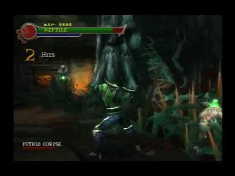 cara unlock reptile in mortal kombat shaolin monks