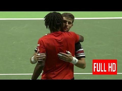Martin Klizan vs Gael Monfils Rotterdam 2016 Final Highlights HD grigor dimitrov interview