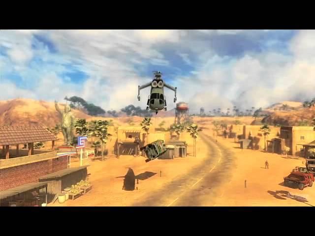 Just Cause 2 Xbox 360 Trailer - GC 2009: Trailer
