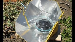 All Season Solar Cooker Review and Demonstration