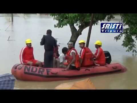 Flood in Agartala 11-08-2017 HD Video