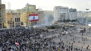 Mass protests held as anger grows towards Lebanon government