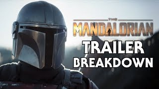 The Mandalorian Trailer Breakdown