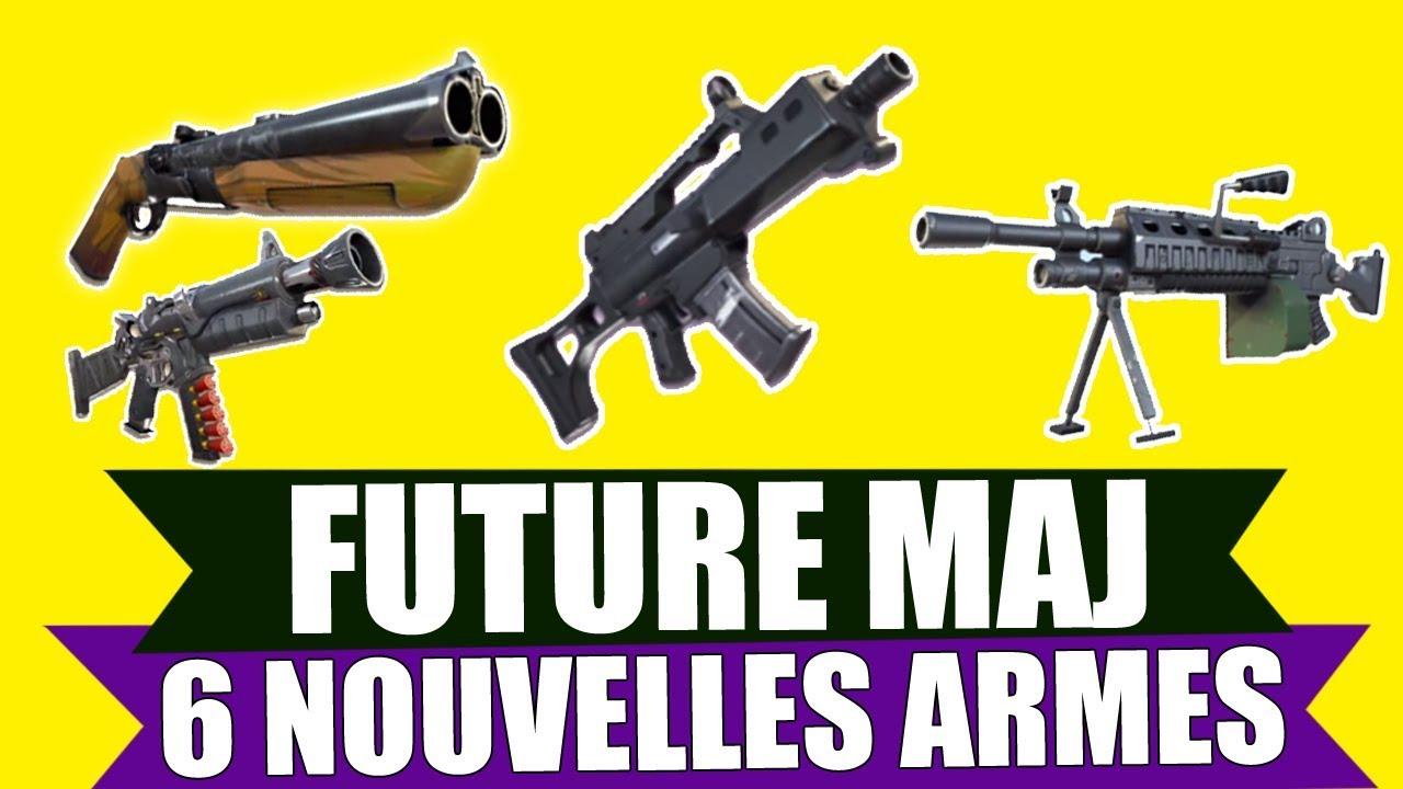 Nouvelle Arme Fusil A Canon Scie Et Fuites Sur Fortnite Battle