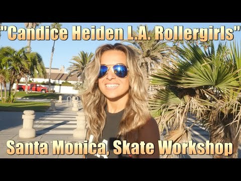 The Return Of Candice Heiden And The L.A. Roller Girls