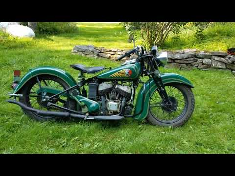 Pickle! 1940 Indian Sport Scout Motorcycle