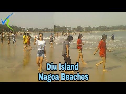 Diu Island Nagoa Beach India