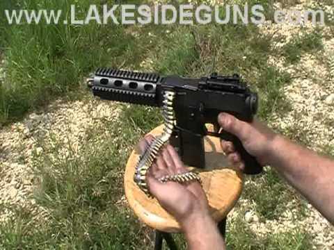 Razorback 22LR pistol configuration test firing
