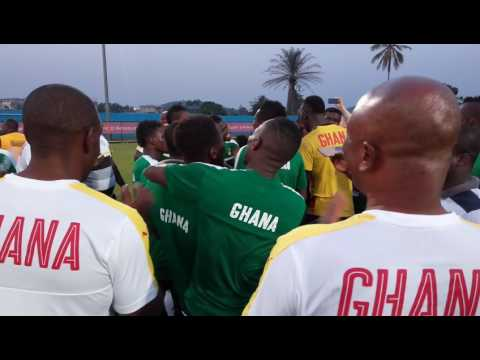 Black Stars in singing ahead of DR Congo clash on AFCON 2017