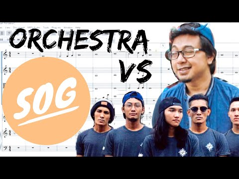 Sumpah Pendekar by SOG Orchestra Version (BEHIND THE SCENE of HIFAxSOG) with SCORE