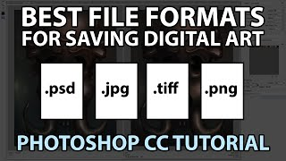 best file format for art