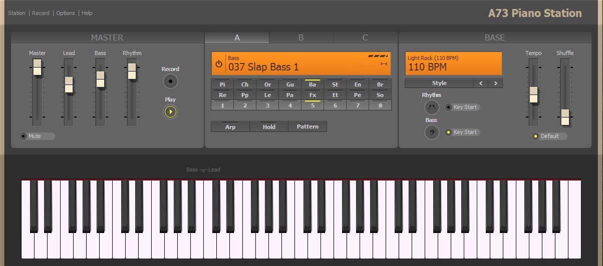 piano a73